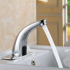 Water Saving Kitchen Faucet Automatic Inflared Sensor Water Saving Faucets Inductive Kitchen