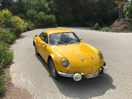 renault alpine classic 1969 renault alpine a110 coupe for sale 1760 dyler