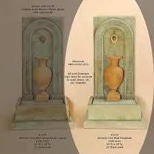 giannini garden ornaments eturia urn wall urn fountains