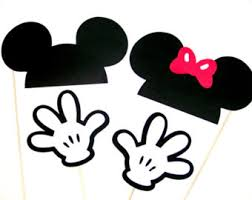 mickey mouse photo booth props free printable mickey mouse ears template free clip