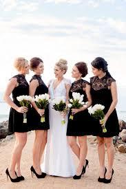 16 black bridesmaid dresses that are beyond amazing