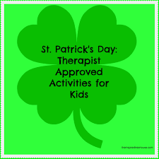 therapist approved st patrick u0027s day activities for kids