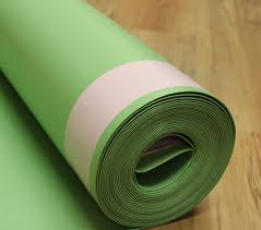 Underlay For Laminate On Concrete Floor Floormuffler Flooring Underlayment Acoustical And Moisture Barrier
