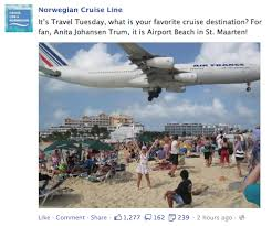 Carnival Cruise Meme - what the cruise lines are sharing on facebook for travel tuesday