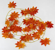 online shop decorative flowers artificial fall maple leaf garland