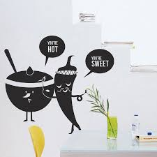 Wall Stickers For Kitchen by Popular Wall Stickers Restaurant Kitchen Cartoon Buy Cheap Wall