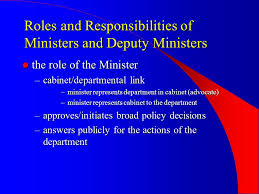 Cabinet Responsibilities Part Ii The Structure Of Bureaucracy And The Canadian Political