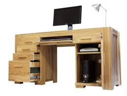 Solid Oak Office Desk Furniture Inspiring Image Of Rectangular Light Brown Drawer Solid