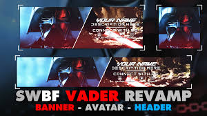 free gfx revamp template pack star wars battlefront darth