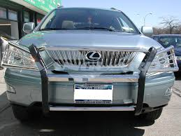 lexus rx400h front bumper brush grill guard s s auto beauty vanguard