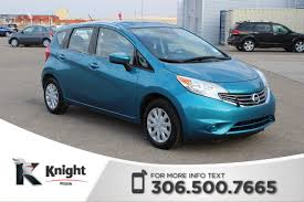 used nissan versa used 2015 nissan versa note s hatchback near moose jaw 1847