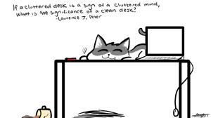 Cluttered Desk Albert Einstein Cluttered Desk Cluttered Mind Hostgarcia
