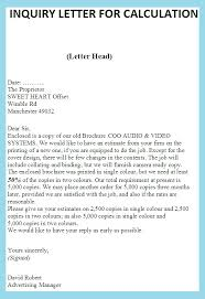 product information business letter examples