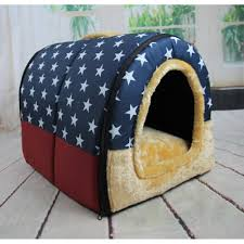 Igloo Dog Bed Tianmei Soft Pet Igloo Dog Cat Bed House Kennel Doggy Cushion