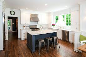 Houzz Painted Cabinets Blue Kitchen Cabinets Houzz White Painted Cream Colored Color