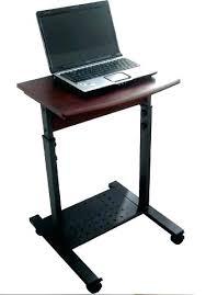 Portable Standing Laptop Desk Mobile Laptop Computer Desk Portable Standing For Bed Sofa Folding