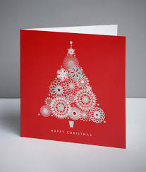 abstract tree christmas cards pack of 20 cancer research uk