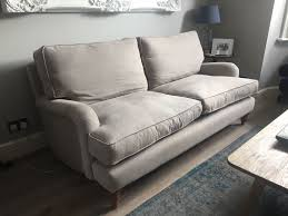one and a half seater sofa sofa com bluebell two and a half seat sofa stone brushed linen