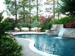 landscaped pool pictures landscape design ideas for backyard with