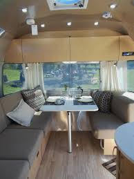 a swanky airstream trailer stocked with red carnation soap is my