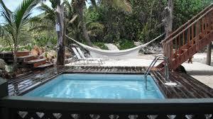 swimming pool area kaireva beach house rarotonga