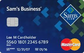 sams club business cards sam s club business mastercard wallaby financial