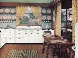 1946 early american kitchen 1940s kitchens mid century
