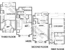 urban townhouse floor plans architecture plans 74327