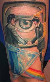 pink floyd 2 by george scharfenberg tattoonow