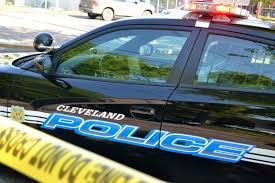 car crashes into cleveland home thanksgiving evening say