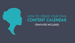 how to create your own content calendar templates included
