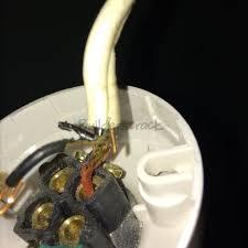 light fitting wiring repair 132746 builderscrack