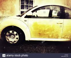 yellow volkswagen beetle royalty free vw beetle car aldeburgh suffolk uk stock photo royalty free