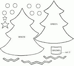 outline ornament template merry