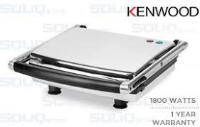 Kenwood Sandwich Toaster Kenwood 1800w Stainless Steel Body Health Grill Model Hg400