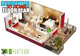 3d home interior design 3d floor plan design 3d floor plan yantram studio