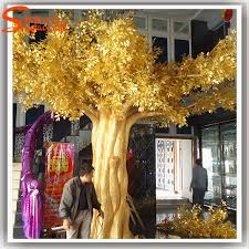 Wedding Wishes Tree Large Outdoor Artificial Golden Tree Fake Decorative Wedding
