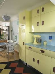 yellow kitchens antique yellow kitchen vintage kitchen 1950s from style your modern vintage
