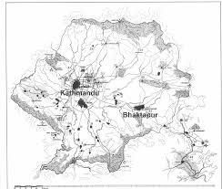 Kathmandu Nepal Map by Kathmandu Valley Map Kathmandu Nepal U2022 Mappery