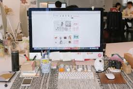My Office Desk Desk Goals Declutter Decorate Your Office Desks With Pinkoists