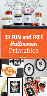 33 fun and free halloween printables tip junkie