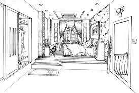 draw room one point perspective drawing the ultimate guide