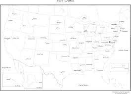 us map printable printable us map with capitals blank map of the united states