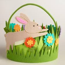 easter basket grass get ready to fill these adorable easter baskets project nursery