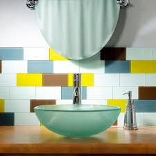 Backsplash In Bathroom Aspect Tile Backsplashes Tile The Home Depot
