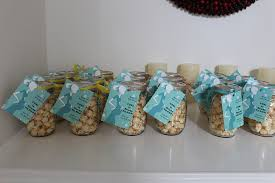 popcorn favors jar popcorn baby shower favors jar crafts