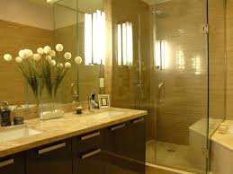 bathroom lights that let you shine hgtv brown master bathroom