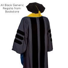 graduation gown rental of california phd regalia rental set