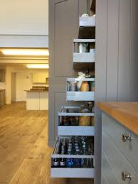 tower cabinets in kitchen space tower solid wood kitchen cabinets glasgow
