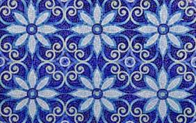 Blue Ceramic Floor Tile Blue And White Ceramic Tiles Freshouz Com